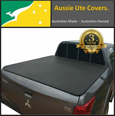 Mitsubishi Triton MQ Dual Cab July 2015 to Current Clip On Tonneau Cover