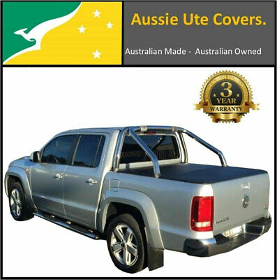 Volkswagen Amarok Highline Dual Cab Ute Tray Clip On Tonneau Cover