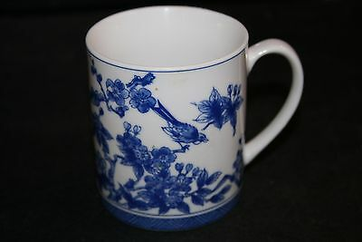 Blue and white  Coffee Mug, Blue and White 4x4 Mug Cup, Willow design,