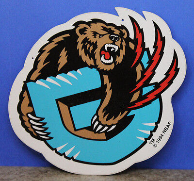 Vancouver Grizzlies NBA 1994 Sticker for Ticket Information