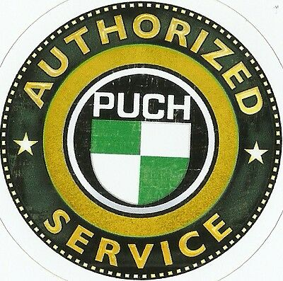 PUCH MOTORCYCLE Sticker Decal