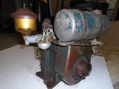 Vintage 50s Clinton B700 1-1/2HP Engine All Original Complete Fast Free Shipping