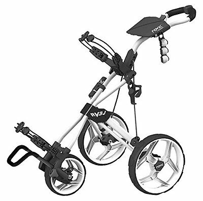 Clicgear Kids' RV3J Rovic Trolley, White