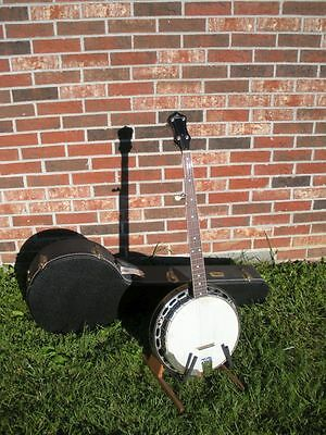 Gibson Prewar 1930 Style 1 conversion banjo, Steve Ryan Flathead. Beauty!