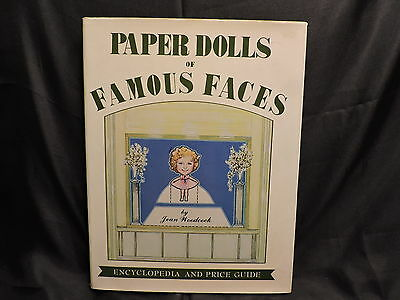 Paper Dolls of Famous Faces Encyclopedia Price Guide Vol. 2 Jean Woodcock 1980