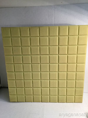 """Foam Seat Pad Cushion for Wheelchair Car Chair 4""""x18""""x18"""" Without Cover"""