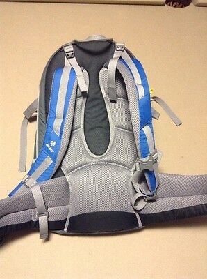 DEUTER KangaKid Child Carrier Backpack Daypack Blue/Silver Hiking