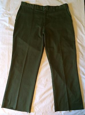 Official Boy Scouts of America Olive Green Uniform Pants Mens 40
