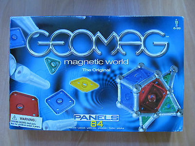 New in Sealed Box Geomag Magnetic Toy Panels 84 Pieces