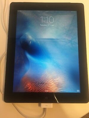 Apple iPad 3rd Generation 16GB, Wi-Fi + 4G, 9.7in - Black Tablet