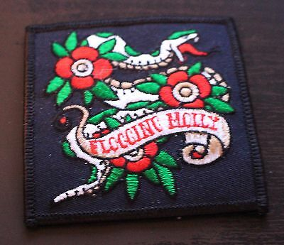 FLOGGING MOLLY Album Badge Fabric Iron On Patch Clothing 1999 Brand New