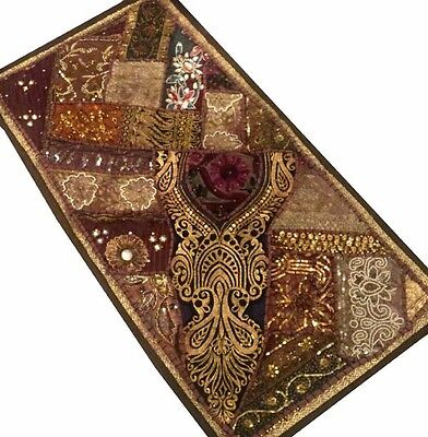"40"" Classic Collectible Sari Vintage Décor Wall Hanging Throw Runner Tapestry"