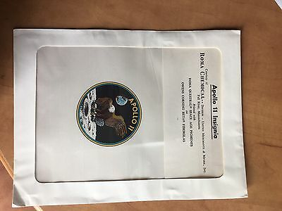 Nasa Space Collectible. Apollo 11 Official Patch. Still In Original Package