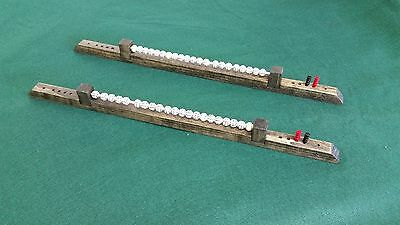 Abacus Scorer For Cue Bowling Or Shuffleboard Tables