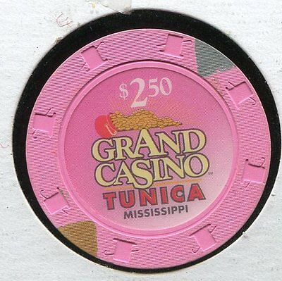 Grand Casino $2-50 Tunica MS  CG730  Additional Chips Ship for 25c !