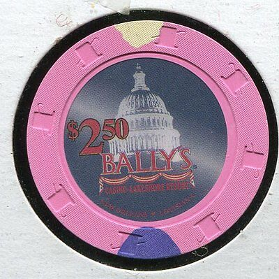 Ballys $2.50 New Orleans LA  CG254  Additional Chips Ship for 25c !