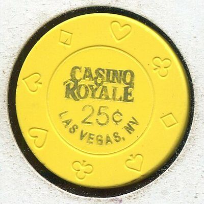 Casino Royale 25c Las Vegas NV  CG39912 Additional Chips Ship for 25c !