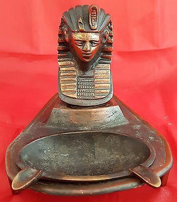 Vintage King Tut Ashtray, Really Interesting and Unique Item
