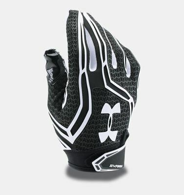 UNDER ARMOUR NFL Swarm II Black White Skill Player Football Gloves Mens S M XL
