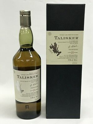 Talisker 25 Years Old Single Malt Scotch Whisky 700Ml Boxed