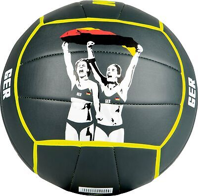 Mikasa Ludwig-Walkenhorst Special Edition Beachvolleyball Beach schwarz 1637