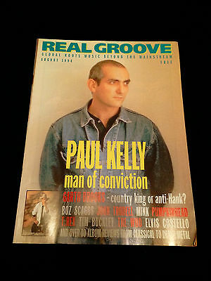 New Zealand Music Magazine Paul Kelly Garth Brooks T.rex The Who 1994