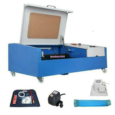 300x200mm 40W CO2 Laser Engraving Cutting Engraver Cutter Machine USB Movable