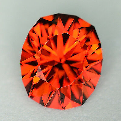 CUSTOM CUT - 2.95ct - SPESSARTITE GARNET - NIGERIA