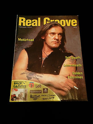 New Zealand Music Magazine Motorhead Lemmy 1997