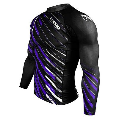 Hayabusa Metaru Charged Longsleeve Rashguard - Purple