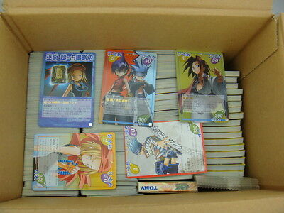Japanese Anime TOMY Shaman King Card Game Card x1850 pages