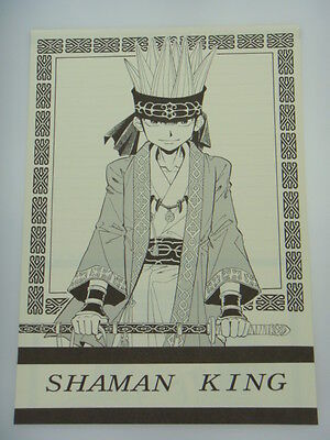 Japanese Shaman King Doujin Fanart Double Sided Letter Paper Writing Paper H010