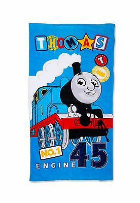 EXTRA LARGE - Thomas The Tank Engine Blue Beach Bath Towel Boys Kids Childrens