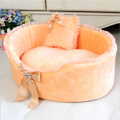 Cozy Winter Soft Warm Dog Mat Puppy Cat Pet Bed House Teddy Large Basket Fleece