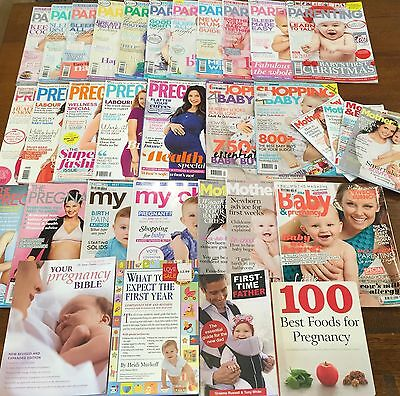 Magazines/Books Baby Pregnancy Maternity Parenting Asst Approx RRP $300