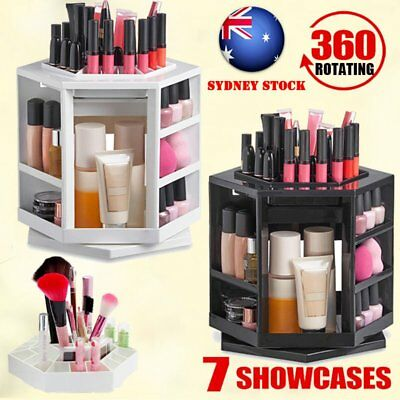 Beautify 360° Rotating Makeup Organiser Storage Cosmetics Holder Display Stand B