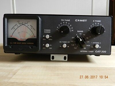 Antenna Tuner COMET CAT 300  300WATTS ACCORD DE 1.6 mhz  a 29 mhz et 50 mhz