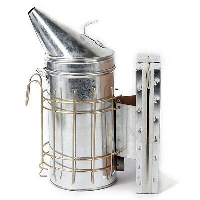 Stainless steel pointed head bee smoker PF