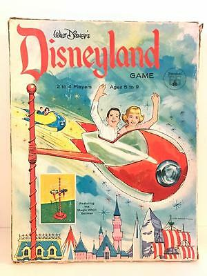 Rare Vintage Walt Disney's DISNEYLAND Board Game First Decade 1965 Edition