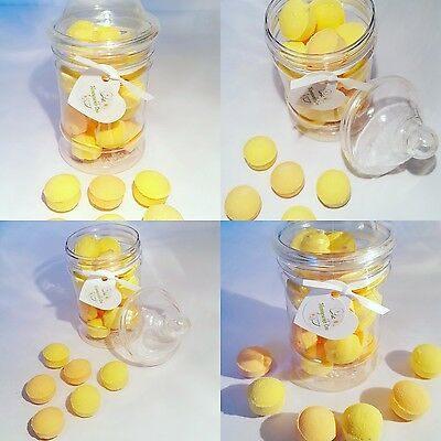 LADY Gift Jar CHANEL NO.5 NEW FLAVOUR - mini bath bombs - made UK - NEW IN