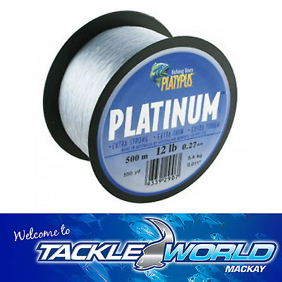 Platinum Monofilament Fishing Line 300m 500m TACKLE WORLD