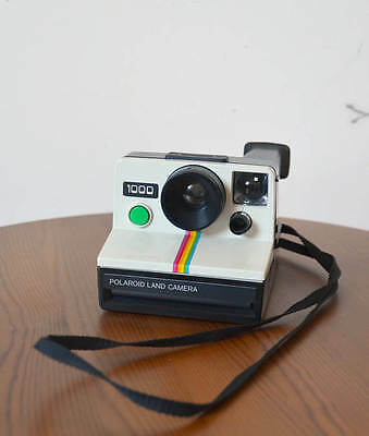 POLAROID Land Camera 1000 - Supercolor XS 70 - Bouton vert