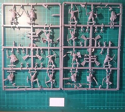 Easterling Warriors Sprues x 2, Incomplete - Lord of the Rings LOTR  Miniatures