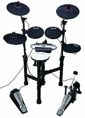 "Carlsbro CSD130 Compact Electronic Drum Kit."".Now No One Can Complain""Just Play!"