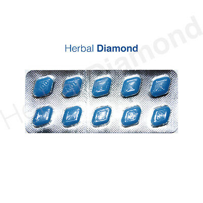 100 x 100mg Blue Sex Tablets for Men. Free P&P.