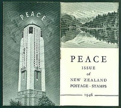 New Zealand 1946 Peace Issue of Postage Stamps