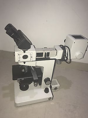Ernst Leitz Wetzlar Laborlux K Fluorescence Microscope With Power Supply Unit