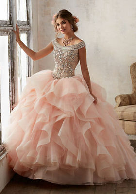 Prom Party Quinceanera Dress Formal Cocktail Ball Gown Wedding Pageant Dresses