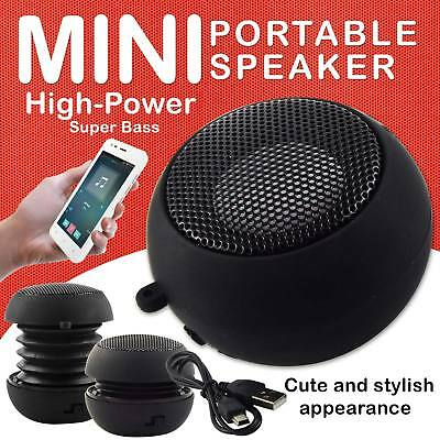 Mini Portable Travel Bass Buddy Speaker for iPod iPhone MP3 Mobile Phone UK