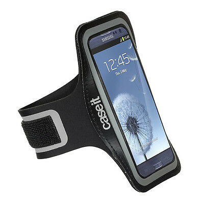 Case It Athlete Fitness Armband Pouch For Samsung Galaxy S4 Black Open Box